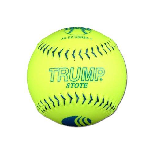 """Trump Stote 1 Dozen USSSA Classic M 12"""" Softballs - 40cor/.325 Compression (AK-EZ-USSSA-Y)"""
