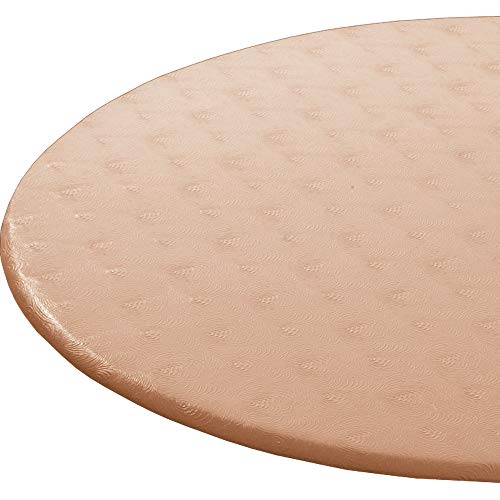 Enduretex Extra Large up to 62 inch Fitted Tablecloth tablecover, Table Cover Color: Classic Copper