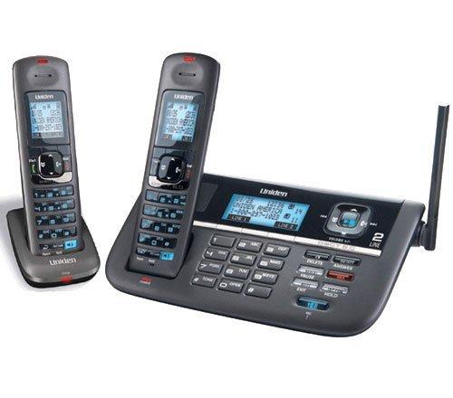 Uniden DECT4086 línea (2) 1,9 gHz teléfono inalámbrico DECT 6.0 Base: Amazon.es: Electrónica