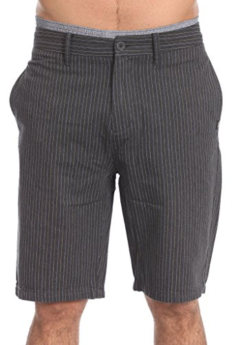 Vans Herren Kurze Hose Suitable, Charcoal Pinstr, 28, VMEFP86