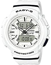 [カシオ] CASIO 腕時計 Baby-G for running ランニング BGA-240-7A ホワイト×ブラック レディース 海外モデル [並行輸入品]