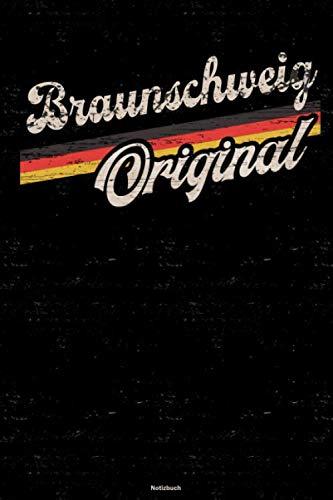 Braunschweig Original Notizbuch: Braunschweig Stadt Journal DIN A5 liniert 120 Seiten Geschenk
