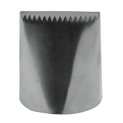 Ateco # 789 - Ribbon Pastry Tip - Stainless Steel