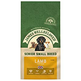 James Wellbeloved Dog Senior Lamb and Rice for Small Breed