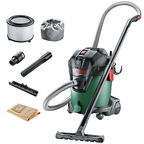 Bosch Home and Garden 06033D1200 Aspiradora, 1200 W, Verde