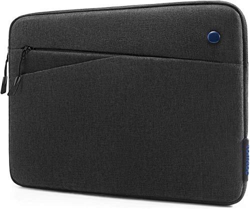 tomtoc Tablet Custodia per nuovo iPad Pro da 12,9 pollici 2018-2020 con Magic Keyboard e Smart Keyboard Folio o custodia Logitech Slim Folio Pro, tasca frontale per accessori tablet