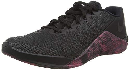 Nike Metcon 5, Scarpe da Corsa Unisex-Adulto, Black/Oil Grey-Sunset Pulse-Black, 42 EU