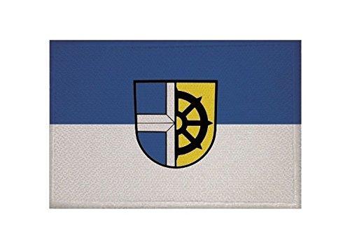 U24 Aufnäher Oberhausen-Rheinhausen Fahne Flagge Aufbügler Patch 9 x 6 cm