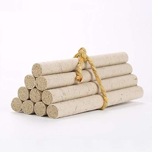 Palitos de Moxa, 5 Años De Moxa Rolls - Chino Puro Moxa Cigarros Usando Natural Salvaje Artemisa Manual De Salud De Gaza Moxibustión Moxa Moxa Columna