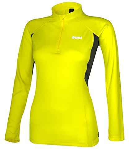 Keela Top Long Sleeve T-Shirt Famme Ads Zip Taille 18
