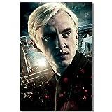 ZzSTX Draco Malfoy Leinwand Poster Kunst Gemälde Wand