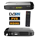 Univision UNS1001PVR digital Satelliten Sat Receiver (HDTV, DVB-S/S2, HDMI, Scart, Display, USB 2.0,...