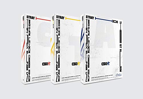 JYP Stray Kids – Go-Standard (Vol.1) Album+Pre-Order Benefit+Folded Poster+Extra Photocards Set C Ver.