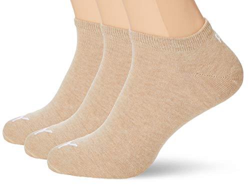 Puma Unisex Invisible Sneaker Socken 12er Pack, Größe:35-38, Farbe:Beige Melange (050)