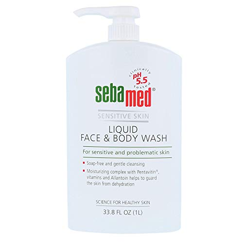 Sebamed Liquid Face and Body Wash Pump Pot 1000ml
