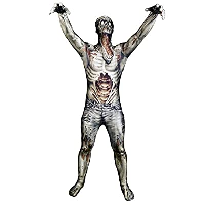 Morphsuits Official Adults Zombie Jaw Dropper Monster Fancy Dress Costume
