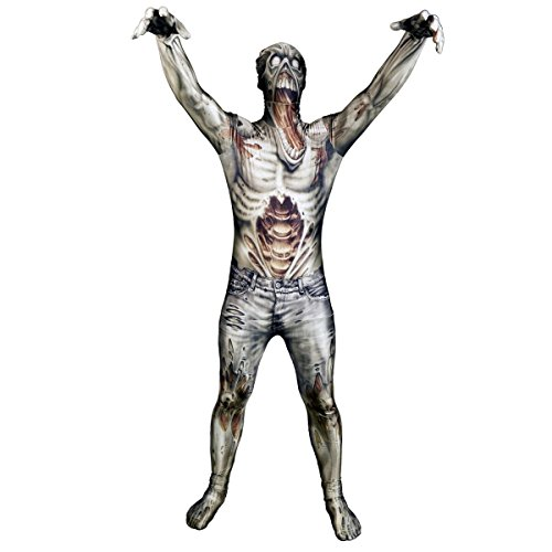 Morphsuits - CS97011/XL - Seconde peau morphsuit ™ monster zombie taille xl