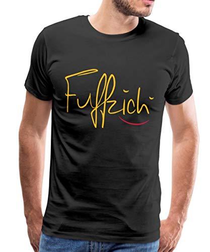 Fuffzich Fünfzigster Geburtstag Männer Premium T-Shirt, L, Schwarz