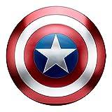 HYYSH Capitán América Shield All Metal 1 a 1 Movie Edition Avengers Accesorios de Mano Modelo Decoración