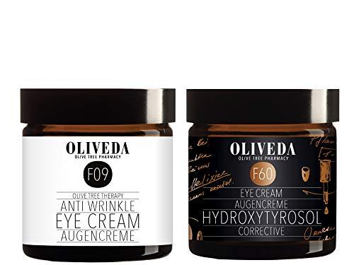 Oliveda F09 Augencreme 30ml + F60 Hydroxytyrosol Corrective Augencreme 30ml
