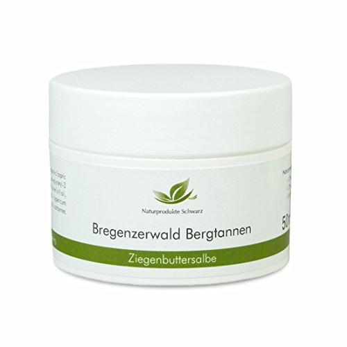 Naturprodukte Schwarz - Bregenzerwald Bergtannen - Ziegenbutter Salbe, 50ml