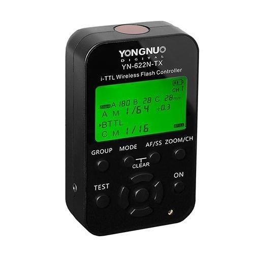 YONGNUO YN622N-TX LCD inalambrico I TTL - Flash Controlador desencadenador para Camara Nikon + NAMVO difusor