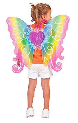 Generique - Bunte Feen-Flügel für Kinder 60x54 cm