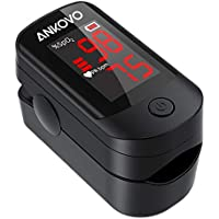 Ankovo Pulse Oximeter Fingertip Blood Oxygen Saturation Monitor
