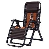 HWBB Chaise longue surdimensionnée avec coussin de massage, réglable et robuste, zéro gravité, pour extérieur, patio, plage, jardin, inclinable, supporte 204 kg