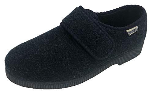 EMANUELA 581 Blu Pantofola Uomo Made in Italy Lavabili in Lavatrice A 30 Gradi Blu 42