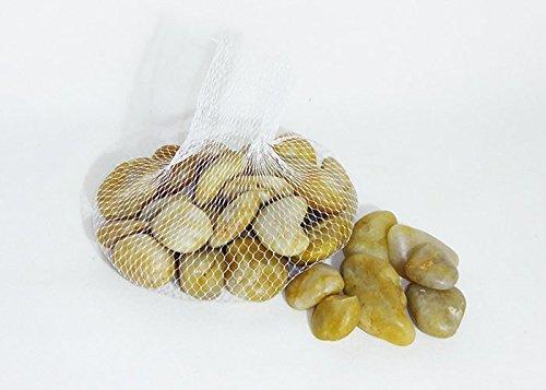Pierres de rivière clairs Naturelles Medi 1 kg
