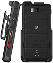 BELTRON Sonim XP8 Holster, Heavy Duty Belt Clip Holster (AT&T FirstNet Sprint Verizon XP8800) Features: Secure Fit, Quick Release Latch, Durable Rotating Belt Clip (Reliable and Lightweight)