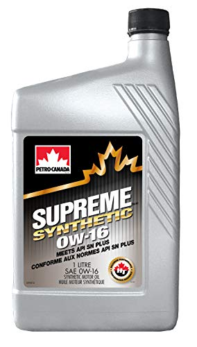 Petro-Canada Supreme Synthetic 0W-16 multigrade auto motorolie, 1 l