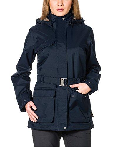 Jack Wolfskin Mädchen Wetterschutzjacke Kimberley Parka, Night Blue, XL