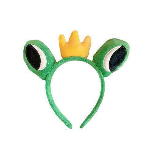 feilai Diadema con ojos de rana coreana para lavar la cara, accesorio para el cabello lindo salvaje divertido (color : 3)