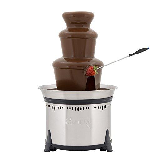 Sephra(セフラ)チョコレートフォンデュファウンテンクラシック3段タワーCF18L-SSTclassic[並行輸入品]
