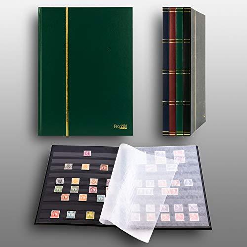 Prophila Collection Clasificador de 16 paginas Negro, Color Verde