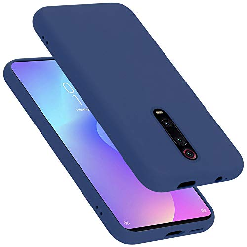 Cadorabo Funda para Xiaomi 9T/K20/K20 Pro en Liquid Azul - Cubierta Proteccíon de Silicona TPU Delgada e Flexible con Antichoque - Gel Case Cover Carcasa Ligera