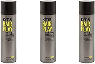 KMS HairPlay Dry Wax 4.3oz (pack of 3)