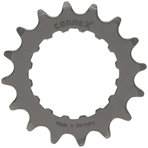 Connex E-Bike Ritzel für Bosch Antrieb 16 Zähne Kettenblätter, Silber, One Size