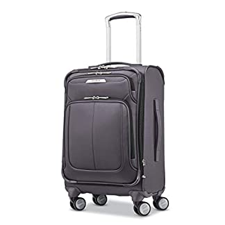 Samsonite-Solyte-DLX-Expandable-Softside-Trolley-mit-Spinner-Wheels