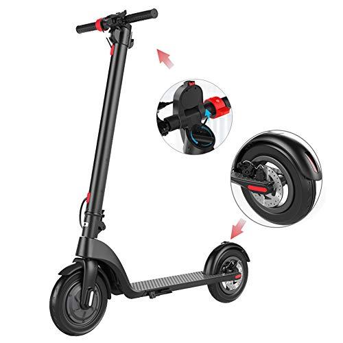 AQAWAS Patinete Electrico Adulto Potente, Tipo Scooter Portátil Electric Scooter Bateria Litio...
