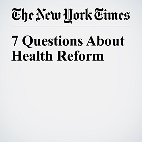 7 Questions About Health Reform copertina