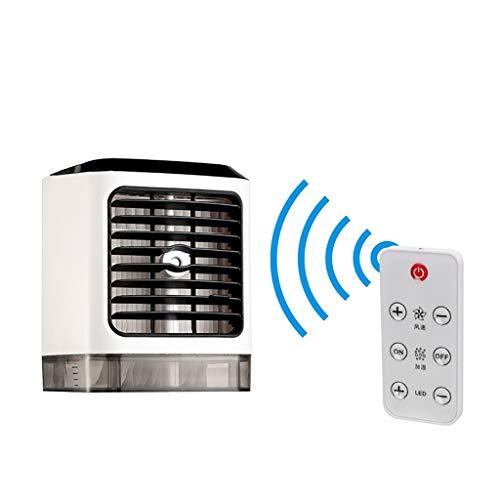 Xudongliu Pequeña Cama de Aire Acondicionado de refrigeración de rociado de artefacto con Carga pequeño Ventilador Enfriador de Aire Micro USB hogar