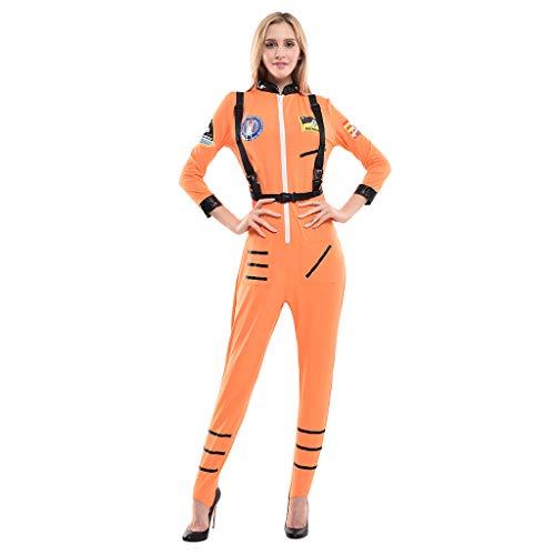EraSpooky Disfraz de Astronauta Traje de Fiesta de Halloween Divertido para Mujeres Adultos