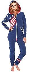 Women's Ladies Onesie Fashion Printed Playsuit Jumpsuit