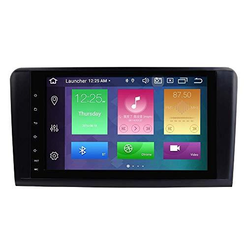 W-bgzsj Reproductor Multimedia de automóviles para Mercedes-Benz GL ML Clase W164 x164 ML300 ML320 ML350 ML450 ML500 GL320 GL350 GL420 GL450 GL450 9in Coche Estéreo GPS Radio DVD Player