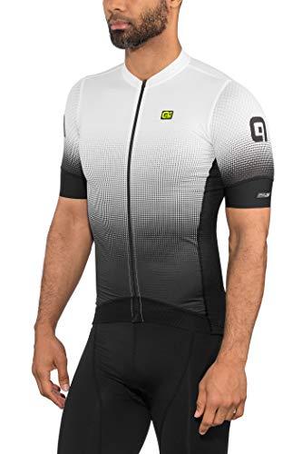 Alé Cycling PRS Dots Kurzarm Trikot Herren Black-White Größe L 2020 Radtrikot kurzärmlig