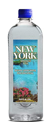 16.9 oz New York Spring Water 1 Case 24 Pieces