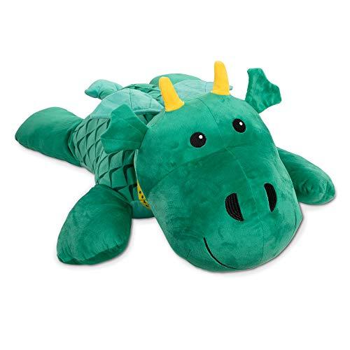 Melissa & Doug Cuddle Dragon Jumbo Plush Stuffed Animal with Activity Card